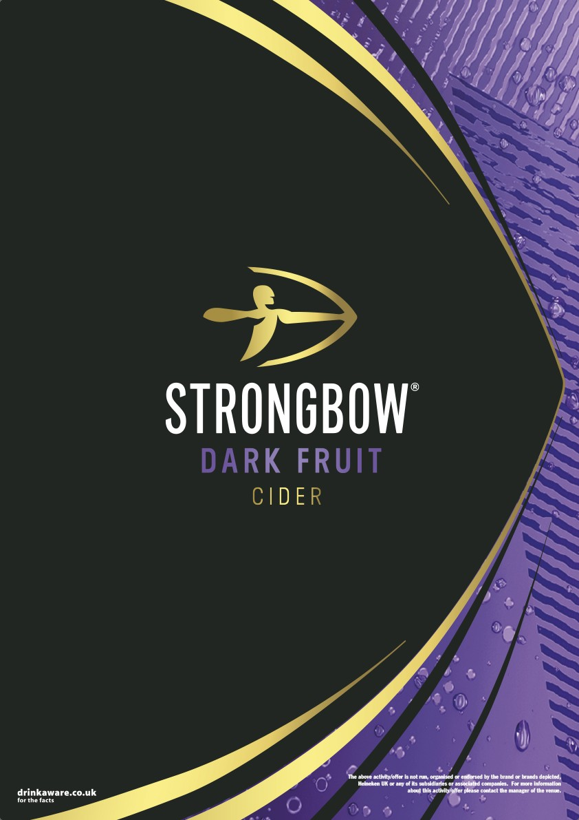 Strongbow Dark Fruit Generic Poster