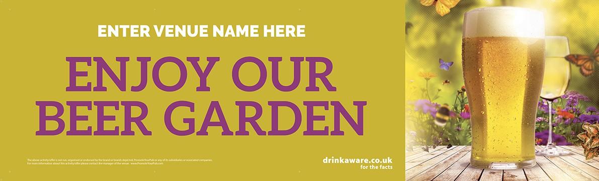 Beer Garden Banner v2 (Photo) (Lrg)