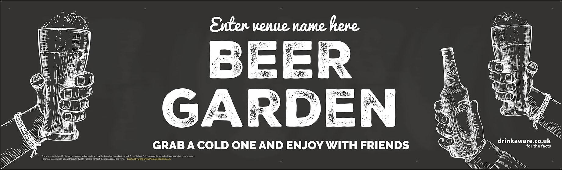 Beer Garden style 8 Banner (Lrg)