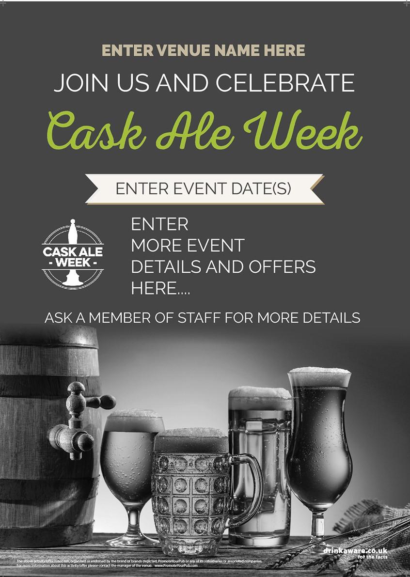 Cask Ale Week Flyer (photo) (A5)