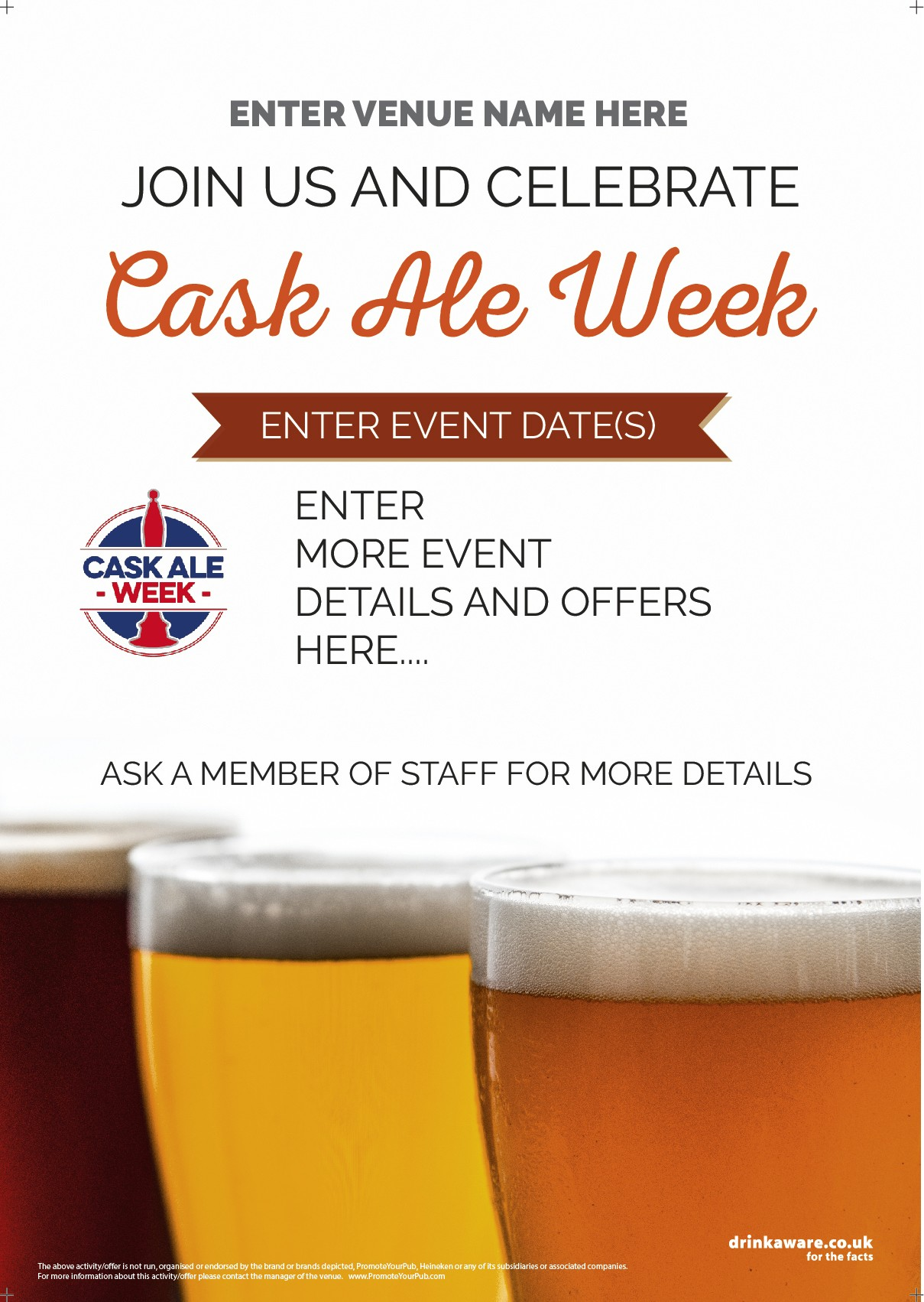 Cask Ale Week Flyer (photo v2) (A5)