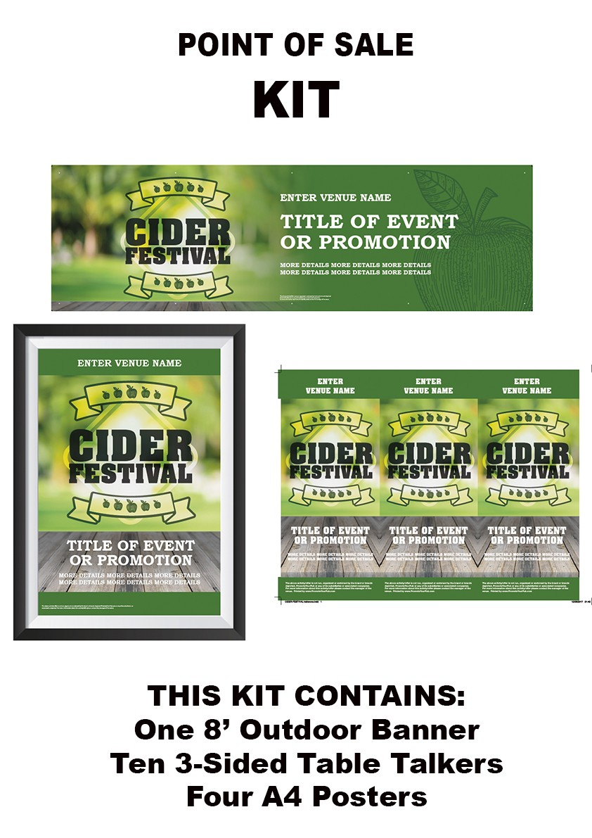 Cider Festival Green KIT