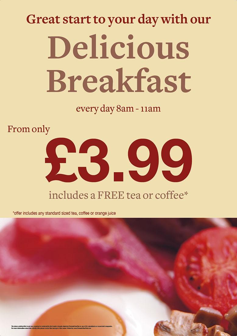 Breakfast Poster (A3)