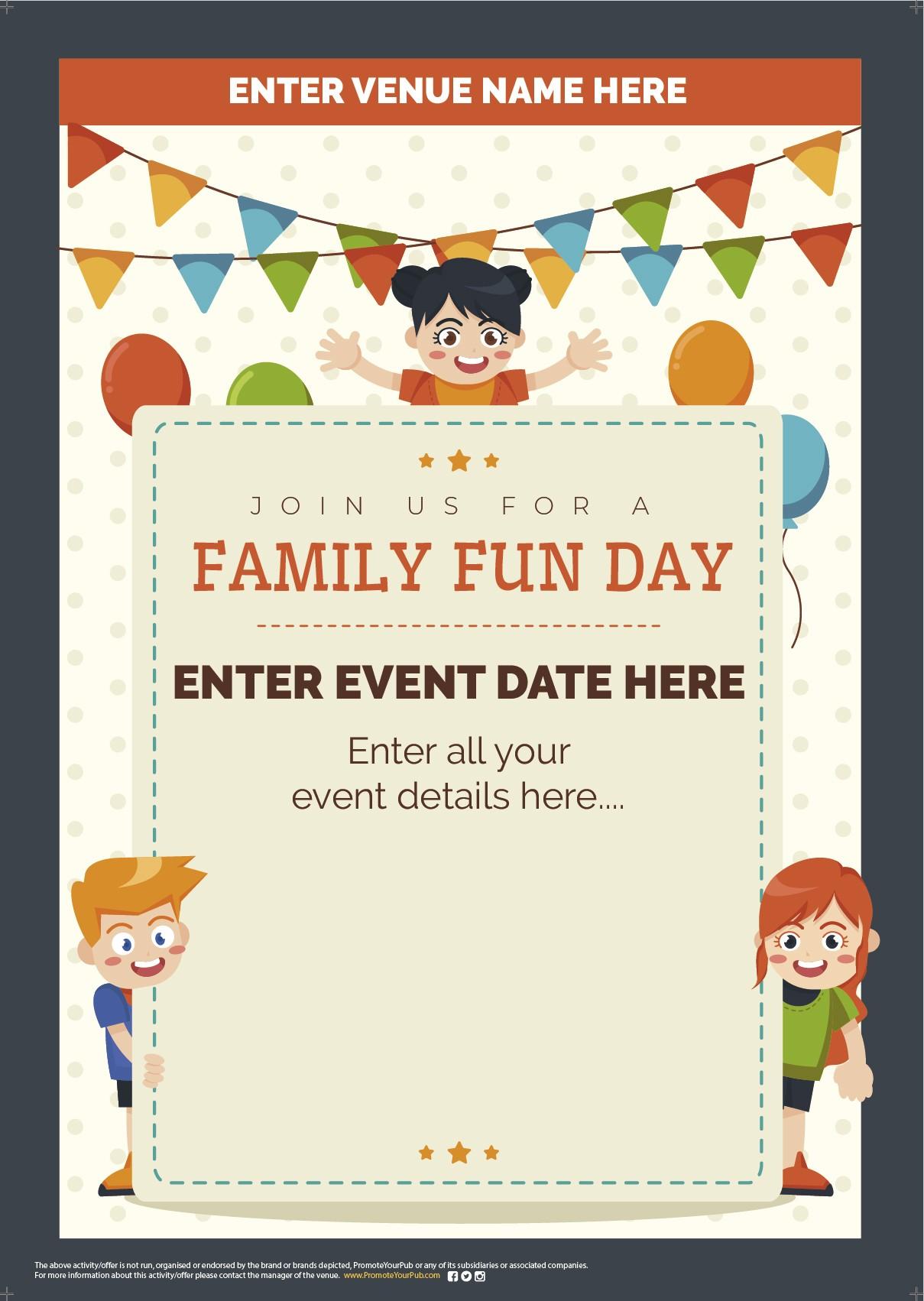 Family Fun Day Flyer (A5)