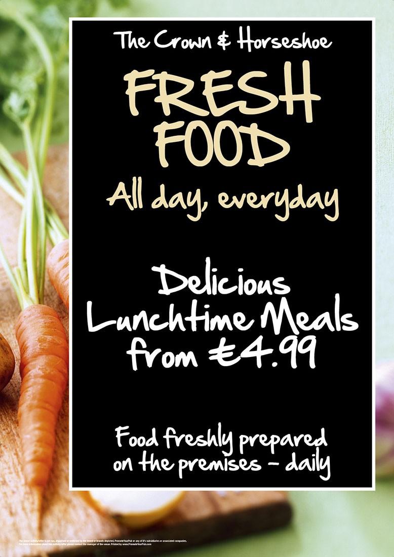 Fresh Food Flyer (A5)