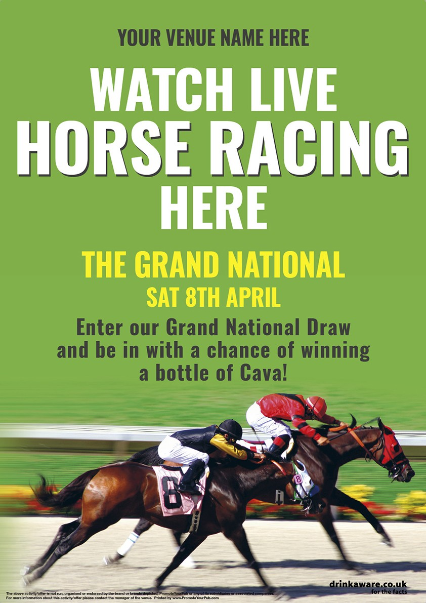 Grand National Poster (A4)