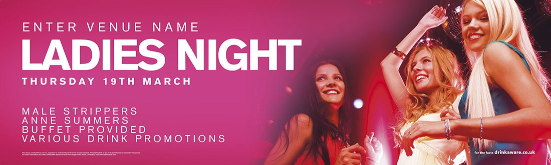 Ladies Night Banner (sml)