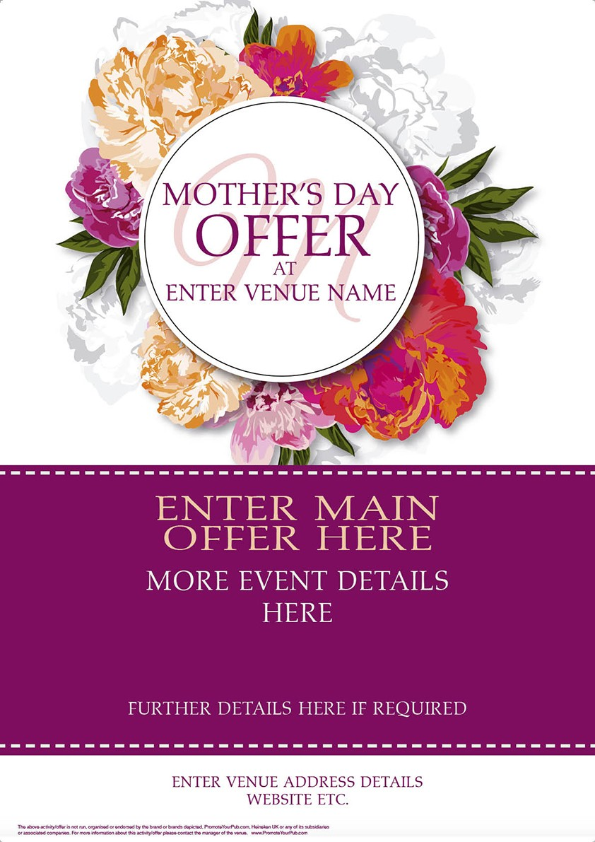 Mothers Day Flyer (A5)