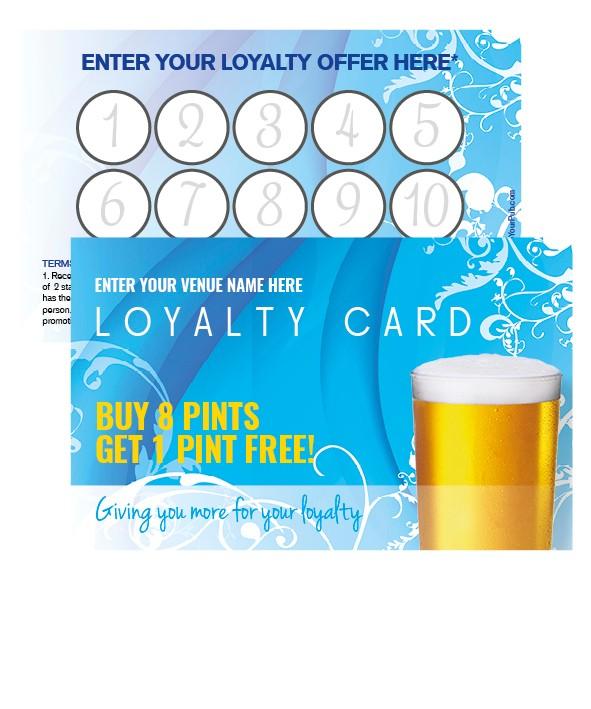 Pint Fresh Loyalty Card