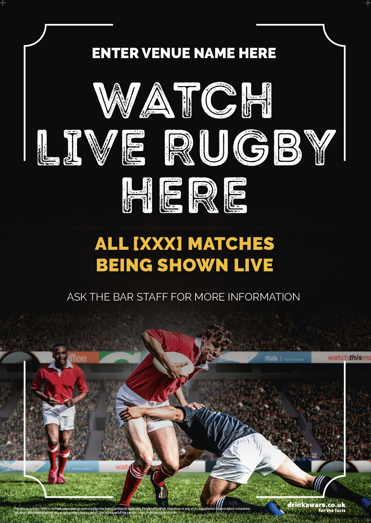 Rugby Flyer (photo) (A5)