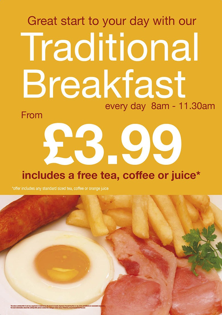Traditional Breakfast Flyer (A5)