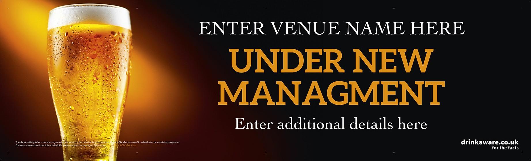 Under New Management Banner v2