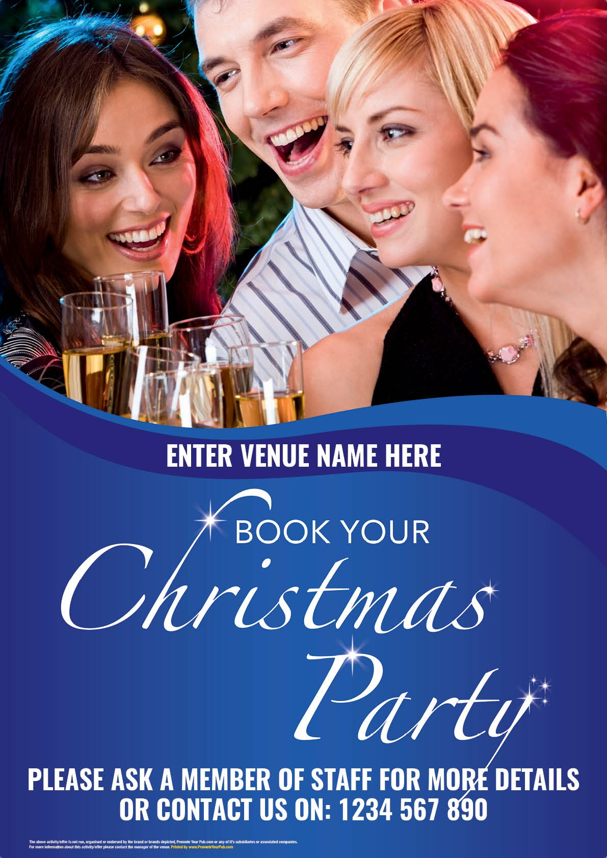 Christmas Party Poster (A4)