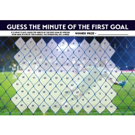 Football 'Guess the Goal' Poster