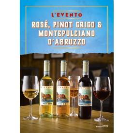 L'EVENTO Wine Poster