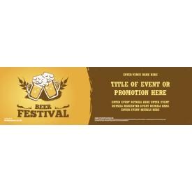 Beer Festival Banner