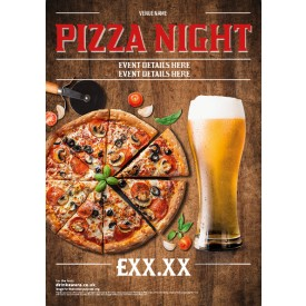 Pizza Night Poster