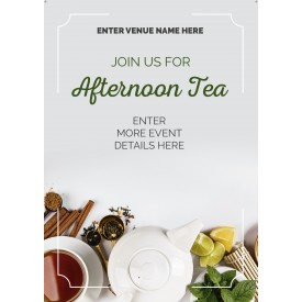 Afternoon Tea Poster (A4) (photo)