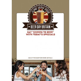 Beer Day Britain Empty Belly Poster v3
