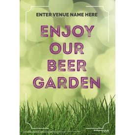 Beer Garden style 1 Poster
