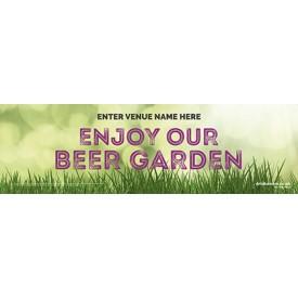 Beer Garden Banner v1 (Photo) (Lrg)