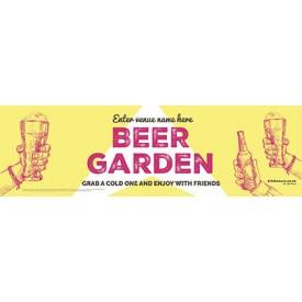 Beer Garden style 10 Banner (Lrg)
