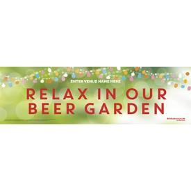 Beer Garden style 6 Banner (Lrg)