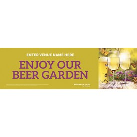 Beer Garden Banner v3 Wine (Photo) (Lrg)