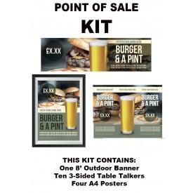 Burger & a Pint KIT