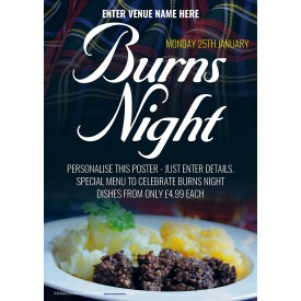 Burns Night Poster (A2)