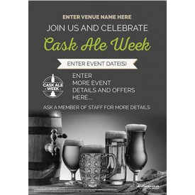 Cask Ale Week Poster (photo) (A4)