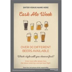 Cask Ale Week Flyer (style1) (A5)