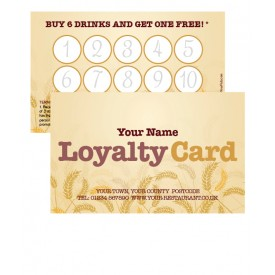 CornFields Loyalty Card