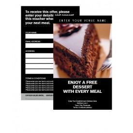 Free Dessert Voucher