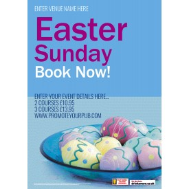 Easter Sunday Flyer (A5)