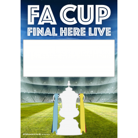 FA Cup Final Empty Belly Poster v4