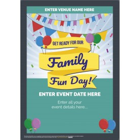 Family Fun Day Poster (A4)