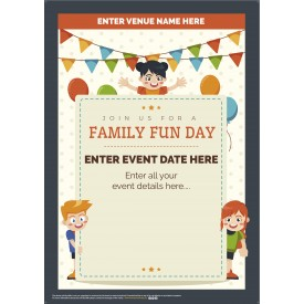 Family Fun Day Poster (A3)
