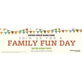 Family Fun Day Banner (1b) (Lrg)