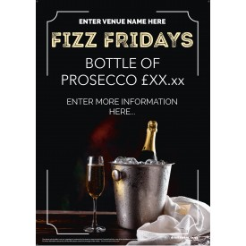 Fizz Friday Poster v1 (A3)