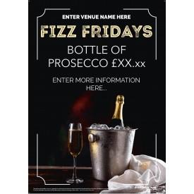 Fizz Friday Poster v1 (A3)