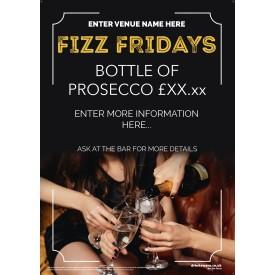 Fizz Friday Poster v2 (A2)