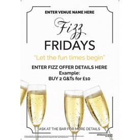 Fizz Friday Poster v3 (A3)