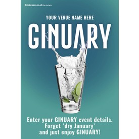 Ginuary option1 Flyer (A5)