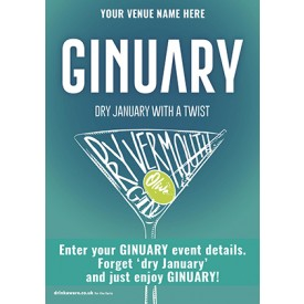 Ginuary option2 Poster (A2)