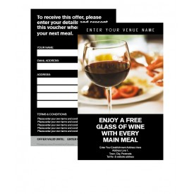 Free Glass of Wine Voucher