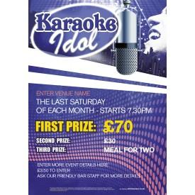 Karaoke Idol Poster (A1)