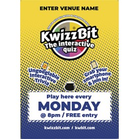 KwizzBit 'Belly' Quiz Poster