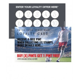 Football Loyalty Card