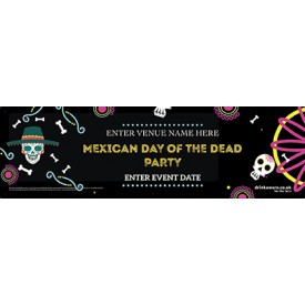 Halloween DAY OF THE DEAD Banner (Mexican) (Lrg)